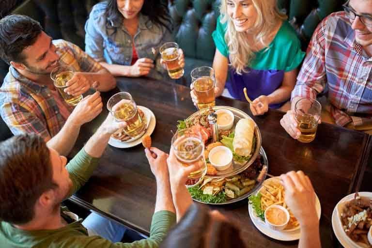 Restaurant groepsreservering
